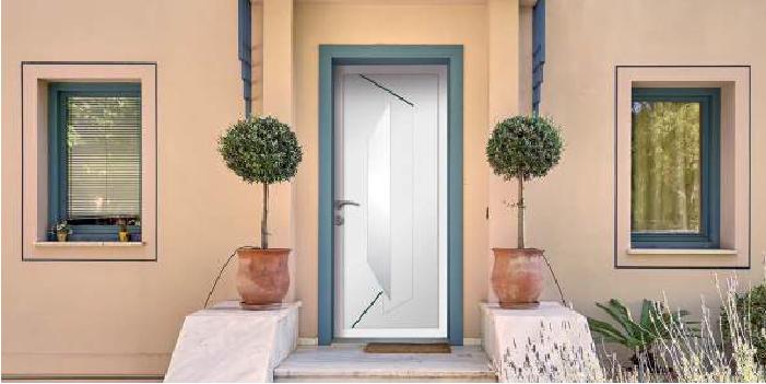 Portes d'entrées gamme PVC et ALU Niort, La Rochelle et Angoulême